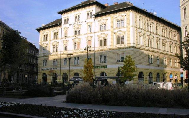 Отель Walking Bed Budapest Silver Market Hall Будапешт вид на фасад