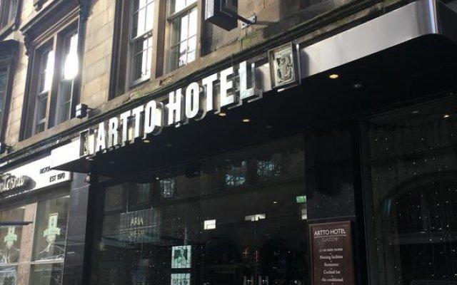 Artto Hotel Glasgow вид на фасад