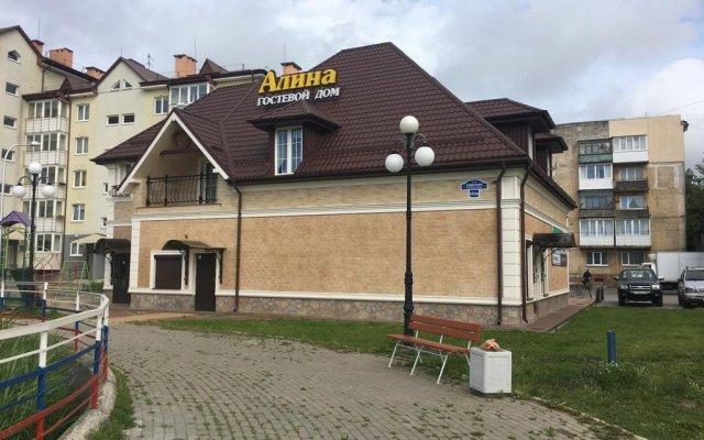 Гостиница Guesthouse Alina вид на фасад