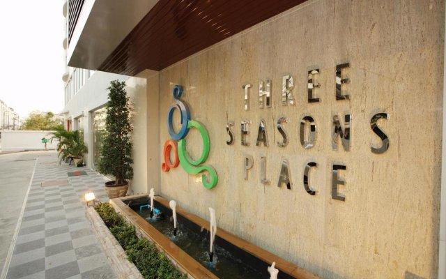 Отель Three Seasons Place вид на фасад
