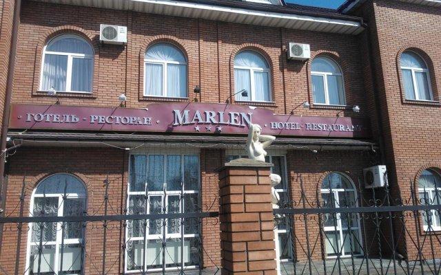 Marlen Hotel вид на фасад