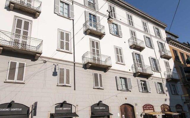 Отель Milan Royal Suites Brera вид на фасад