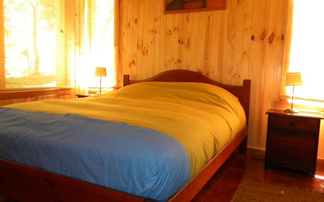 Отель Cabañas Valle del Río комната для гостей