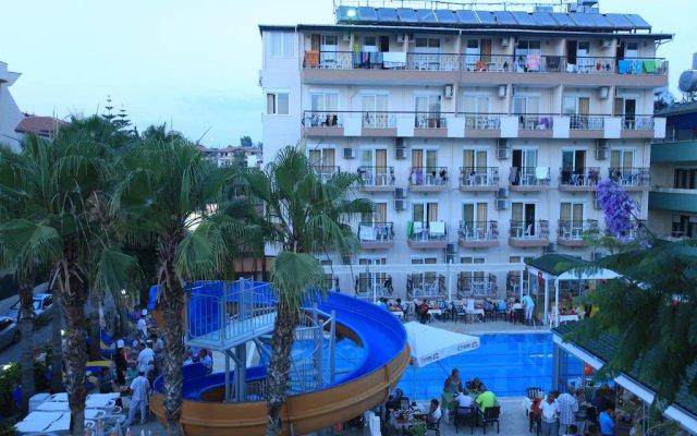 Side Sedef Hotel вид на фасад