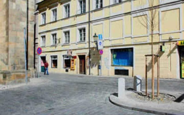Отель Relax In Historical Prague вид на фасад