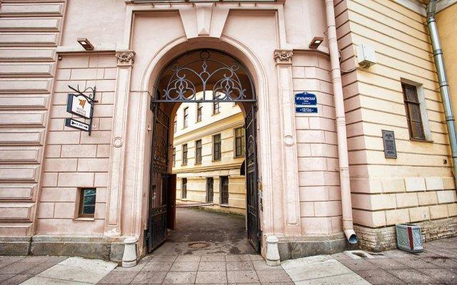 Гостиница Меридиан вид на фасад