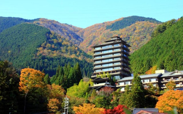 Отель Shogetsu вид на фасад