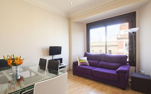 Апартаменты Plaza España Apartment Барселона комната для гостей