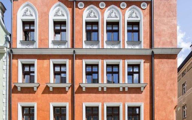 Отель Palazzo Rosso Польша, Познань - отзывы, цены и фото номеров - забронировать отель Palazzo Rosso онлайн вид на фасад