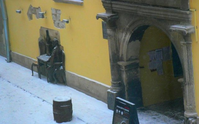 Bazikalo Хостел Львов вид на фасад
