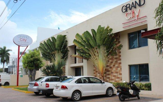 Отель Grand City Hotel Cancun Мексика, Канкун - отзывы, цены и фото номеров - забронировать отель Grand City Hotel Cancun онлайн парковка