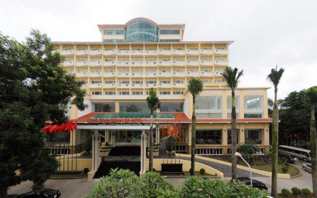 Quang Ba Trade Union Hotel вид на фасад