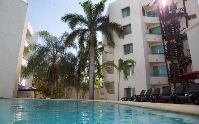 Отель Villa Italia Мексика, Канкун - отзывы, цены и фото номеров - забронировать отель Villa Italia онлайн бассейн