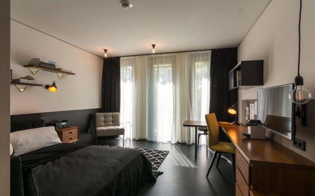 Апартаменты The Spot - Serviced Apartments Мюнхен комната для гостей