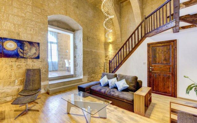 Отель Waterfront Valletta House комната для гостей