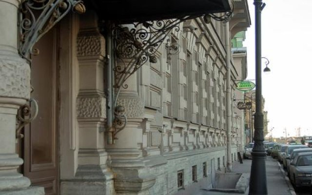 Мини-Отель Ажур Классик вид на фасад