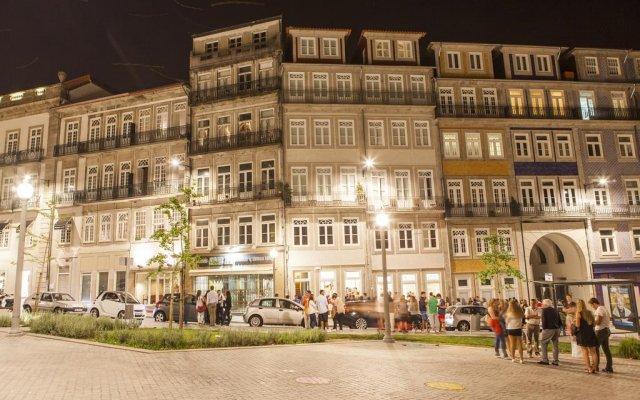Апартаменты Lóios ao Cubo @ UNA Apartments вид на фасад