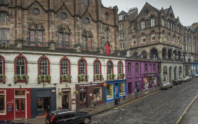 Отель St. Giles Apartment Великобритания, Эдинбург - отзывы, цены и фото номеров - забронировать отель St. Giles Apartment онлайн вид на фасад