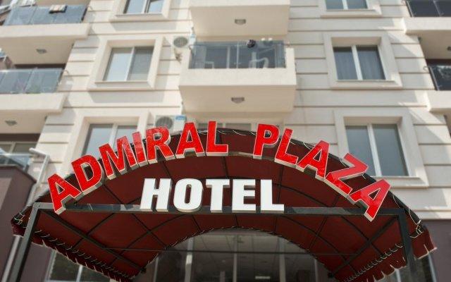 Отель Admiral Plaza Holiday Apartments Болгария, Солнечный берег - отзывы, цены и фото номеров - забронировать отель Admiral Plaza Holiday Apartments онлайн вид на фасад