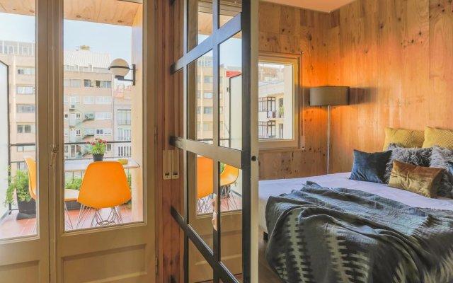 Апартаменты Barcelona Boutique Apartments Барселона комната для гостей