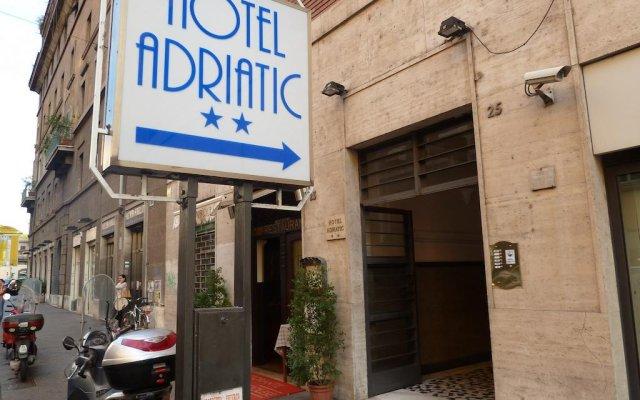Отель Adriatic вид на фасад