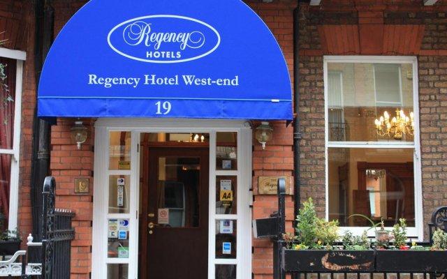 Отель Regency Hotel Westend Великобритания, Лондон - отзывы, цены и фото номеров - забронировать отель Regency Hotel Westend онлайн вид на фасад
