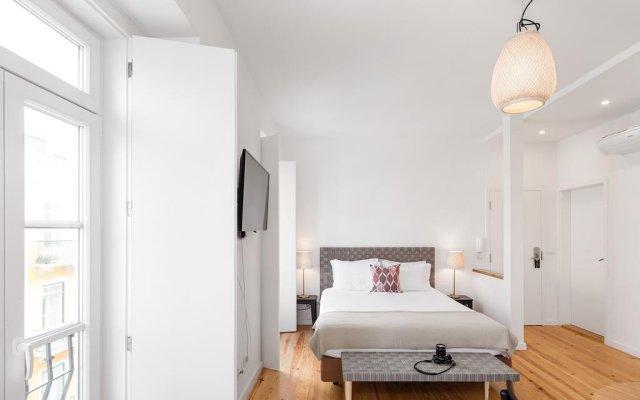 Апартаменты Lisbon Serviced Apartments - Castelo S. Jorge комната для гостей