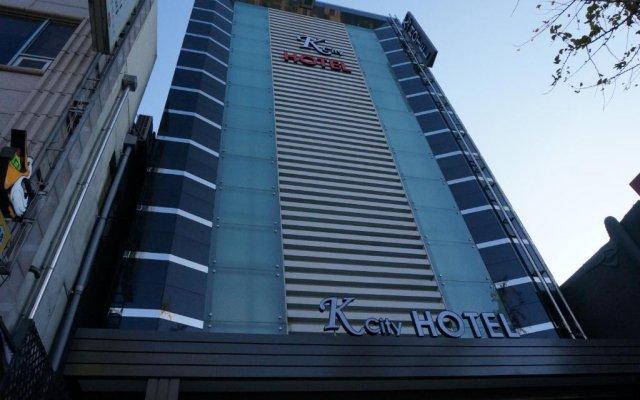 K City Hotel вид на фасад