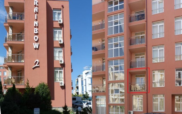 Апартаменты Apartment 98 Rainbow 2 Солнечный берег вид на фасад