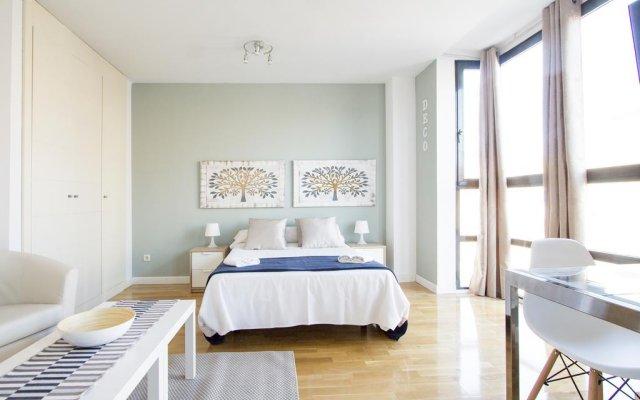 Отель Apartamentos Cuatro Torres комната для гостей