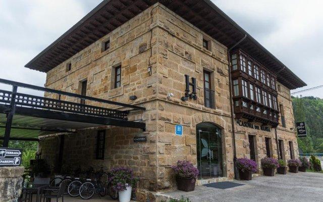Отель Casona del Nansa вид на фасад