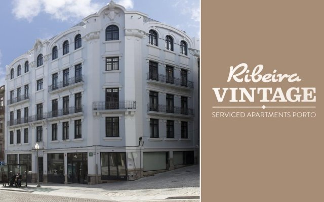 Отель RVA - Porto Central Flats вид на фасад