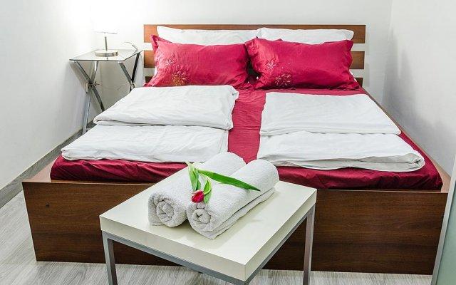 Апартаменты Black & White Apartment Будапешт комната для гостей