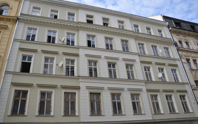 Апартаменты Mivos Prague Apartments вид на фасад