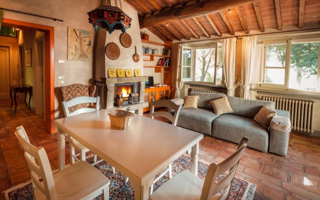 Отель Podere Poggio Mendico Ареццо комната для гостей