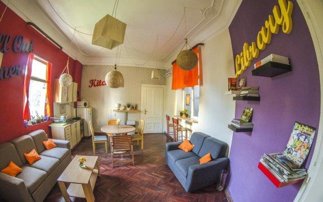 GO2 Hostel Belgrade комната для гостей