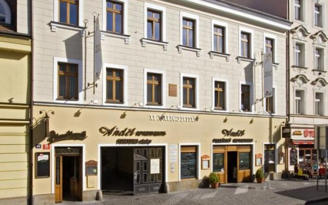 Апартаменты Andel Apartments Praha вид на фасад