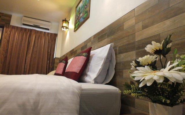 Апартаменты Chaba Garden Apartment комната для гостей