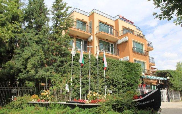 Отель Villa Brigantina Болгария, Солнечный берег - 1 отзыв об отеле, цены и фото номеров - забронировать отель Villa Brigantina онлайн вид на фасад