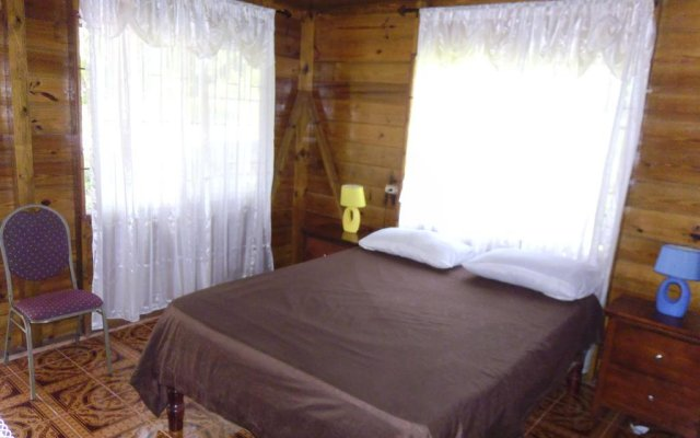 Отель Ocean View Chalet комната для гостей
