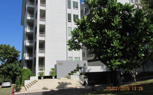 Отель Karon Hill Residence вид на фасад