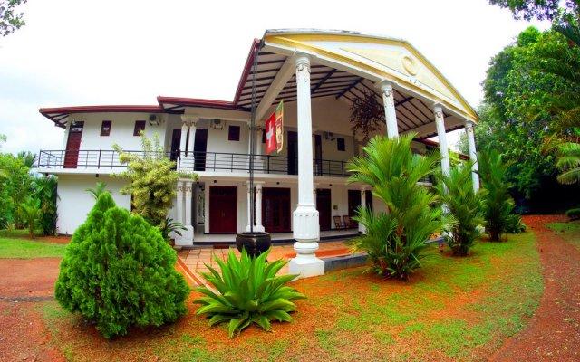 Отель Sobaco Nature Resort Бентота вид на фасад