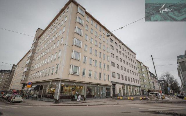 Отель 4pillowsapartments Malminkatu вид на фасад