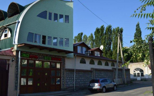 Отель Eco House вид на фасад
