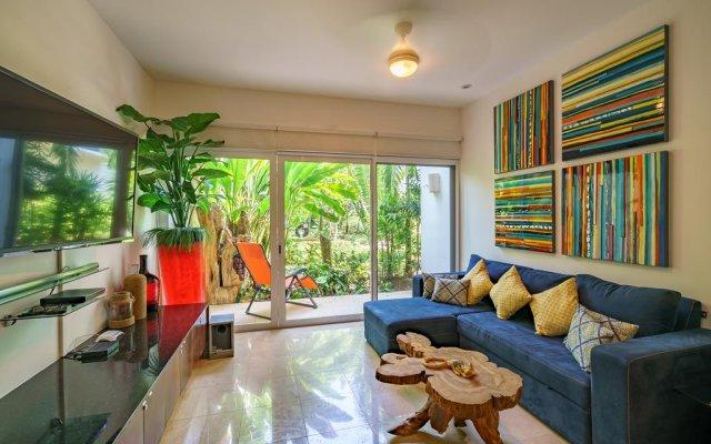 Отель Papaya 15 Apartments Мексика, Плая-дель-Кармен - отзывы, цены и фото номеров - забронировать отель Papaya 15 Apartments онлайн комната для гостей