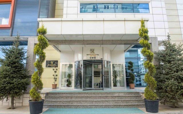 Ozgobek Ronesans Hotel De Luxe вид на фасад