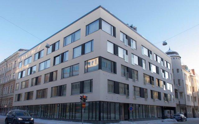 Апартаменты Helsinki Homes Apartments вид на фасад