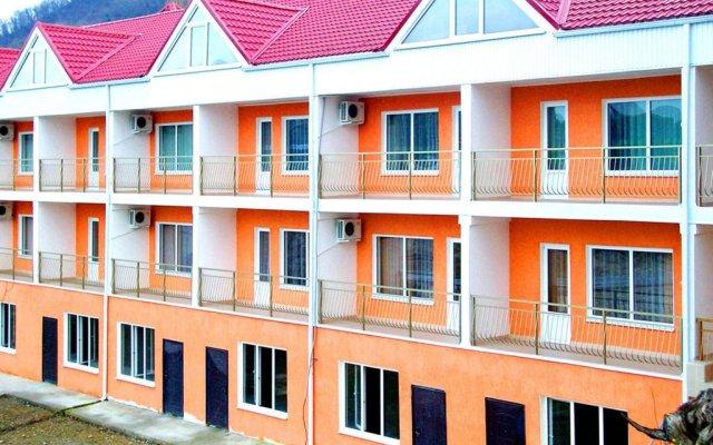 Гостиница Дайв в Ольгинке отзывы, цены и фото номеров - забронировать гостиницу Дайв онлайн Ольгинка вид на фасад