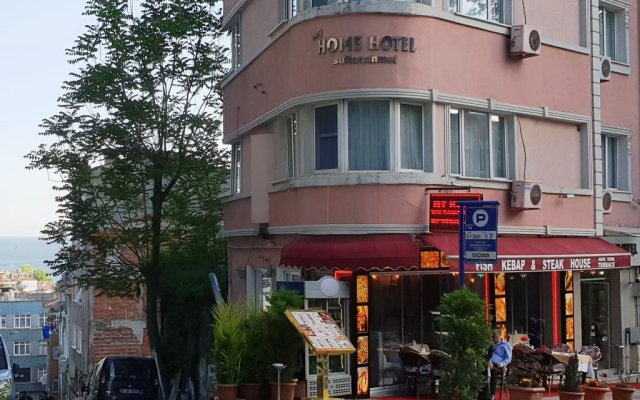 Отель My Home Sultanahmet Стамбул вид на фасад