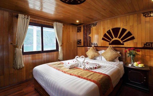 Отель Halong Golden Bay Cruise Халонг комната для гостей
